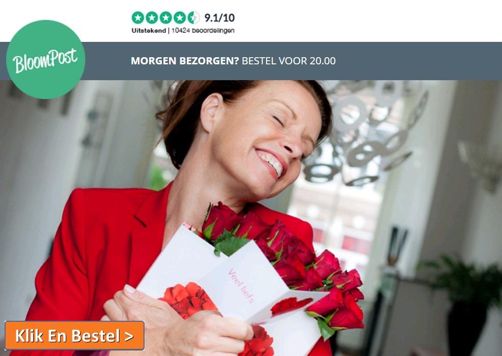 Bloempost - Verse Bloemen In De Brievenbus