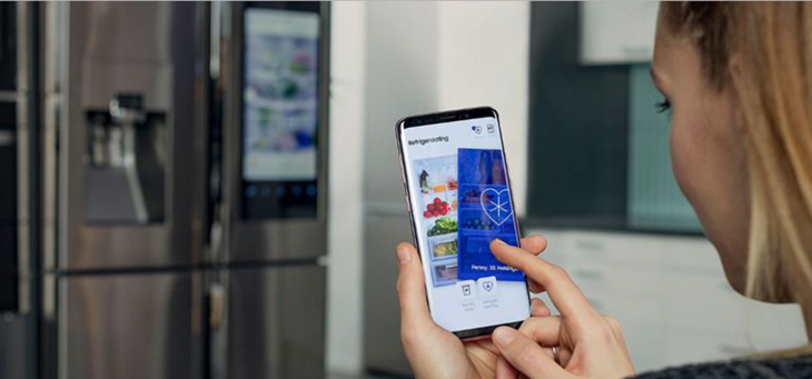 Samsung maakt van je koelkast een Tinder-app