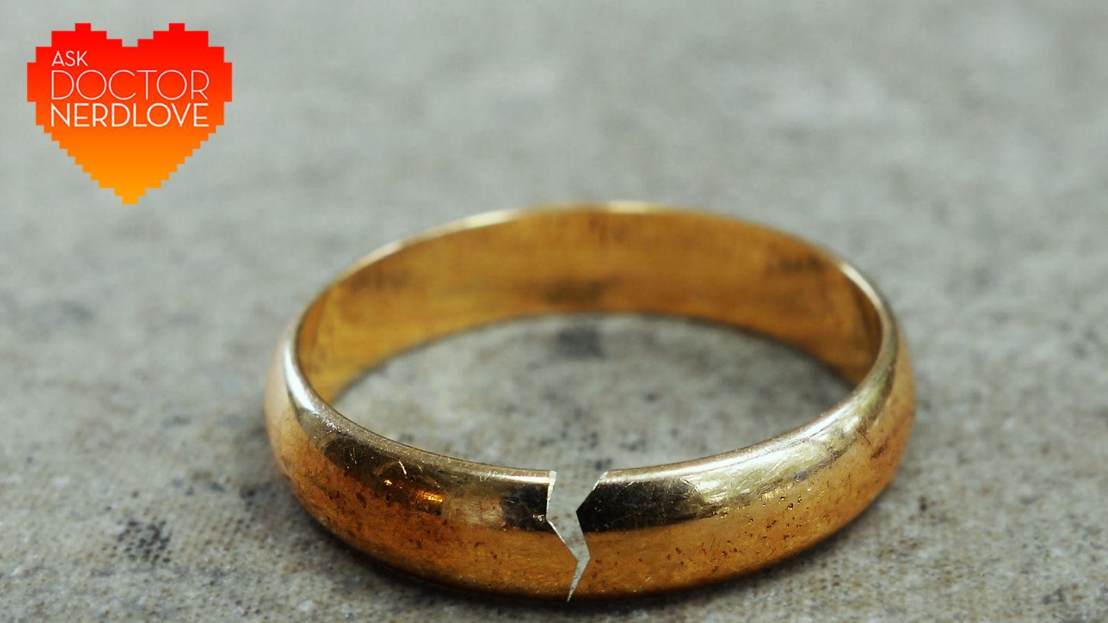 از دکتر NerdLove بپرسید: راهنما، من هنوز عاشق همسرم هستم!